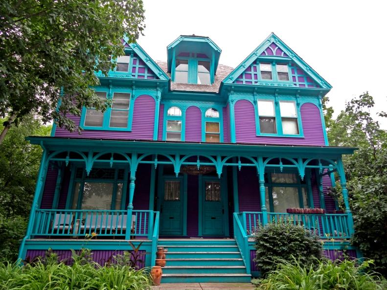 Nicollet Island Neighborhood in Minneapolis